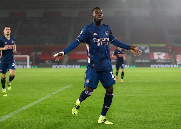 """""""Bom tấn"""" thức tỉnh, Arsenal ngược dòng nhấn chìm Southampton trên """"đất Thánh"""""""