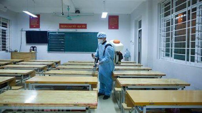 Hà Nội rà soát giáo viên, học sinh về từ vùng dịch Hải Dương và Quảng Ninh