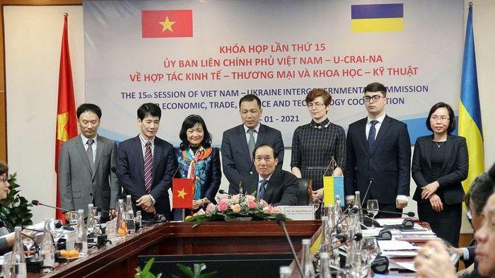Ukraine đề xuất một FTA song phương với Việt Nam