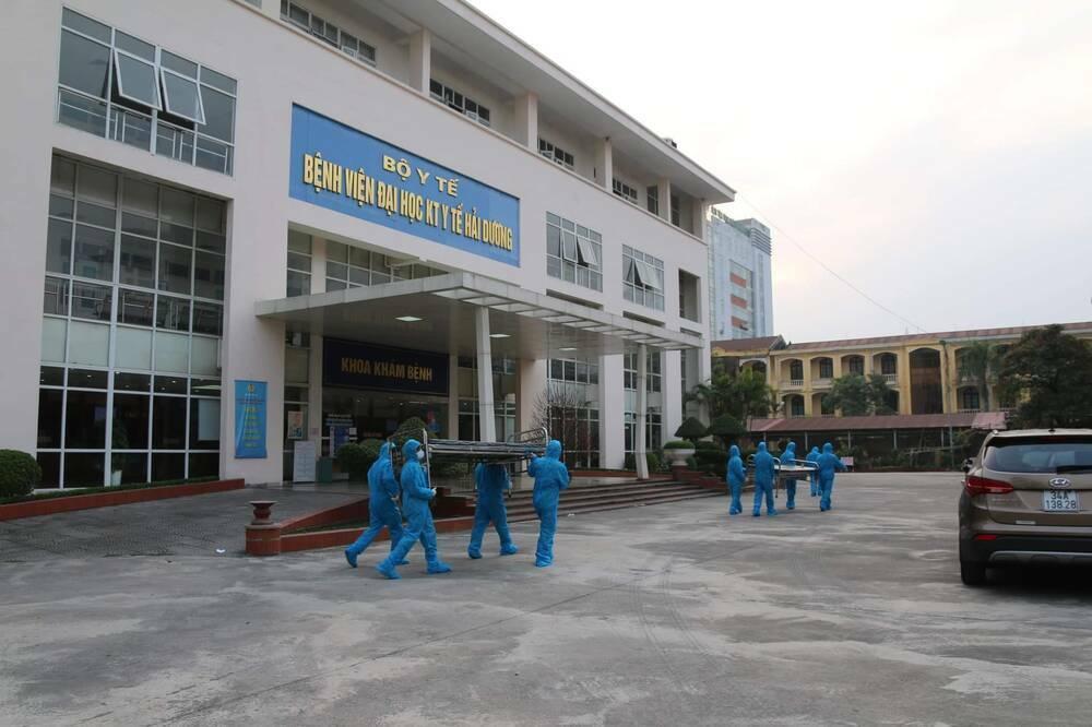 Bệnh viện dã chiến thứ 2 của Hải Dương thần tốc hoàn thành, đón bệnh nhân nhiễm COVID-19 đến điều trị