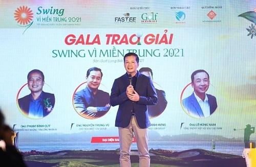 Gần 2 tỉ đồng quyên góp được trong đêm Gala Swing vì miền Trung 2021