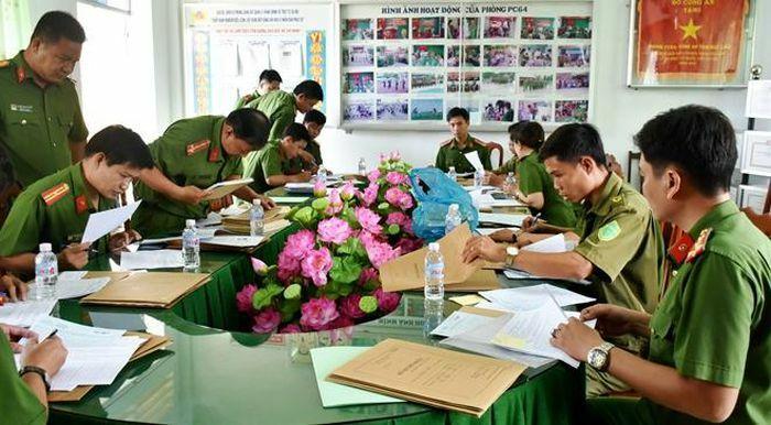 Đẩy nhanh tiến độ cấp thẻ căn cước công dân tại Bạc Liêu