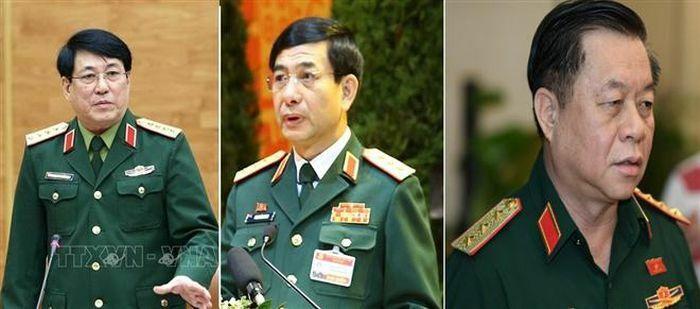 Ba lãnh đạo thuộc Bộ Quốc phòng trúng cử vào Bộ Chính trị, Ban Bí thư