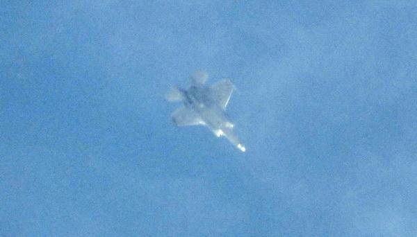[ẢNH] F-35 Israel tập trung số lượng lớn sát biên giới Syria, chuẩn bị tấn công?