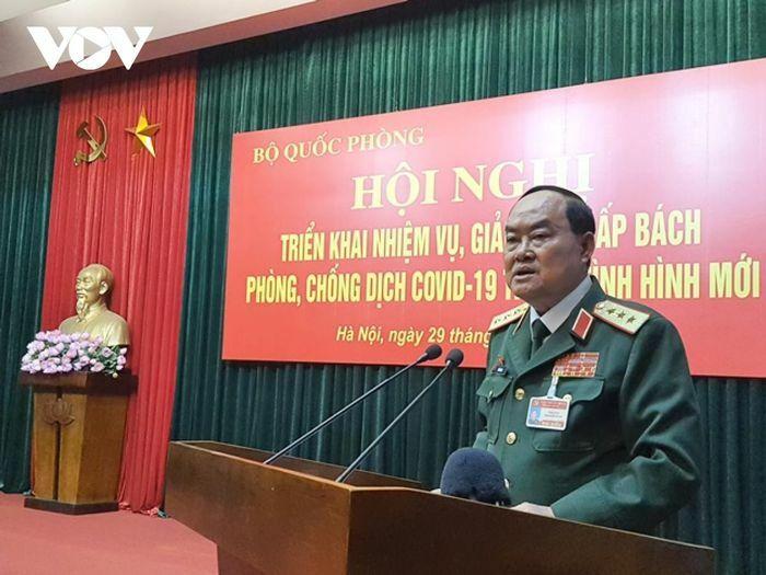 Bộ Quốc phòng triển khai nhiệm vụ phòng chống Covid-19 trong tình hình mới