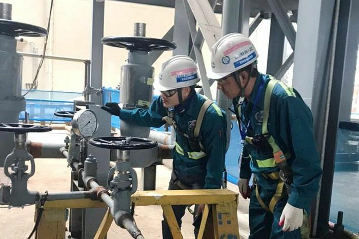 Nhà máy Nhiệt điện Nghi Sơn 2: Thử áp thành công lò hơi số 2