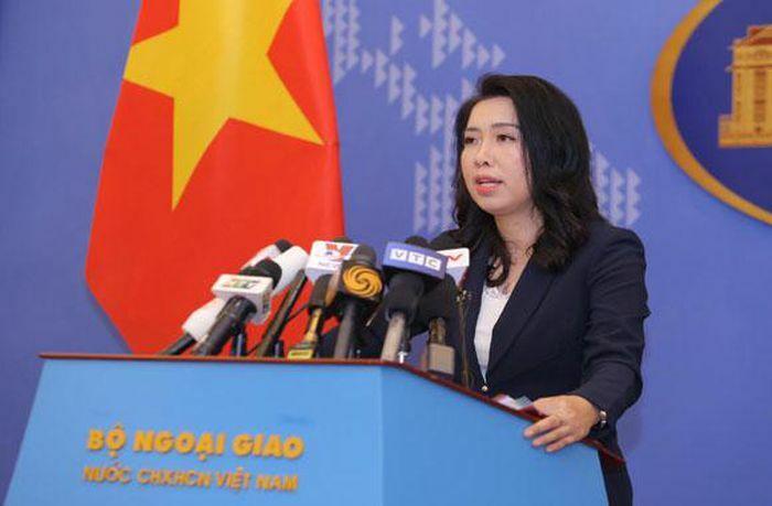 Việt Nam lên tiếng về Luật cảnh sát biển mới được Trung Quốc thông qua