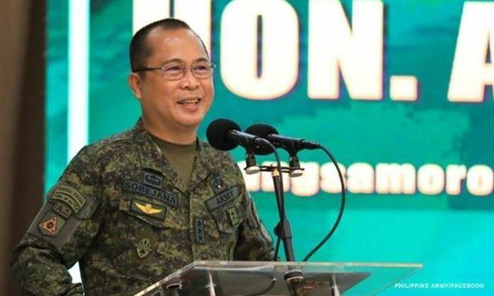 Ông Duterte bổ nhiệm Tổng tham mưu trưởng quân đội Philippines