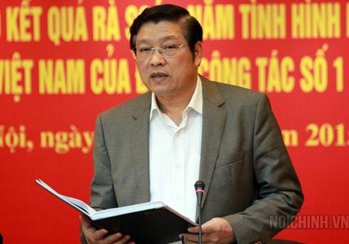Trưởng Ban Nội chính T.Ư Phan Đình Trạc được bầu vào Bộ Chính trị khóa XIII