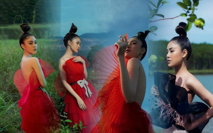 Lý Kim Thảo dầm mình trong nước lạnh giữa trời 8 độ để hóa thiên thần cổ tích trong bộ ảnh thời trang