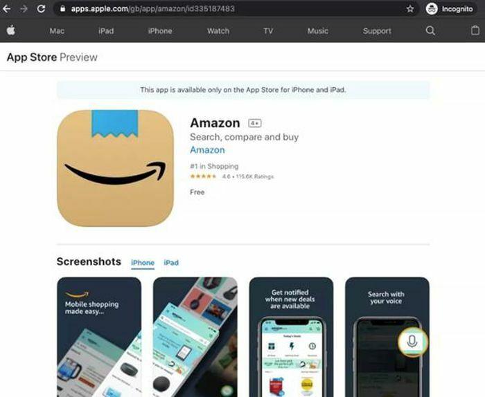 """Biểu tượng mới cho ứng dụng Amazon trông thế nào mà cư dân mạng đề nghị """"sửa lại ngay""""?"""