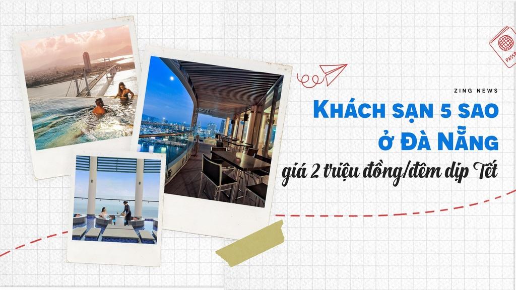 Khách sạn 5 sao ở Đà Nẵng giá chỉ 2 triệu đồng/đêm dịp Tết