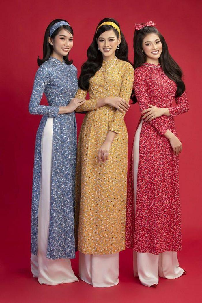 Dàn mỹ nhân Việt gợi ý cách diện áo dài Tết cực xinh để có những bức ảnh nghìn like