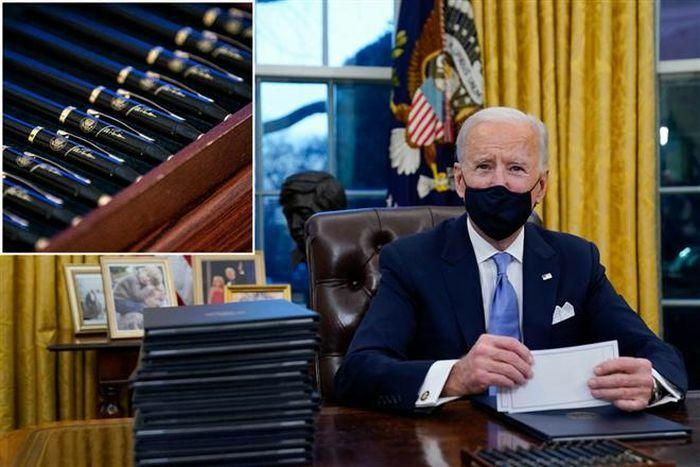 Tuần đầu nắm quyền, ông Biden lập kỷ lục ban bố sắc lệnh hành pháp