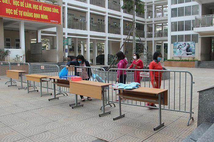 Cô trò Trường Tiểu học Xuân Phương sẽ đón Tết trong khu cách ly tập trung đặc thù