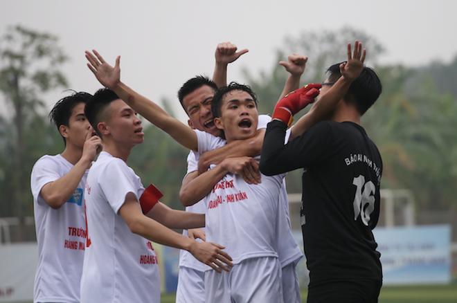 THPT Hoàng Mai lần đầu tiên vô địch