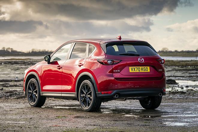 Mazda CX5 phiên bản nâng cấp ra mắt tại châu Âu