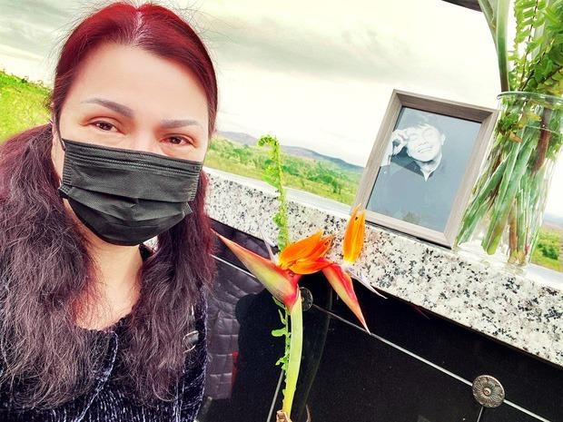Cuộc sống của vợ nghệ sĩ Chí Tài sau 1 tháng chồng qua đời