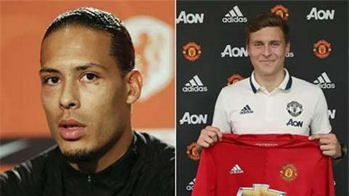 Tiết lộ: Có Van Dijk, Liverpool phải cảm ơn M.U và Lindelof