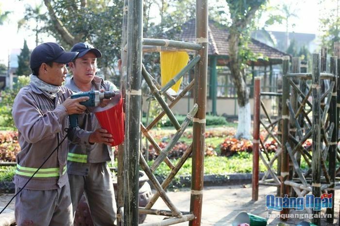 TP.Quảng Ngãi: Khoảng 8,5 tỷ đồng trang hoàng đón Tết