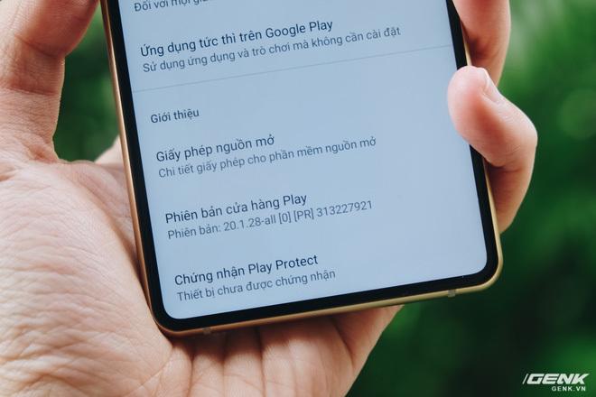 Cuối cùng, Bphone đã có chứng chỉ Google Play Protect
