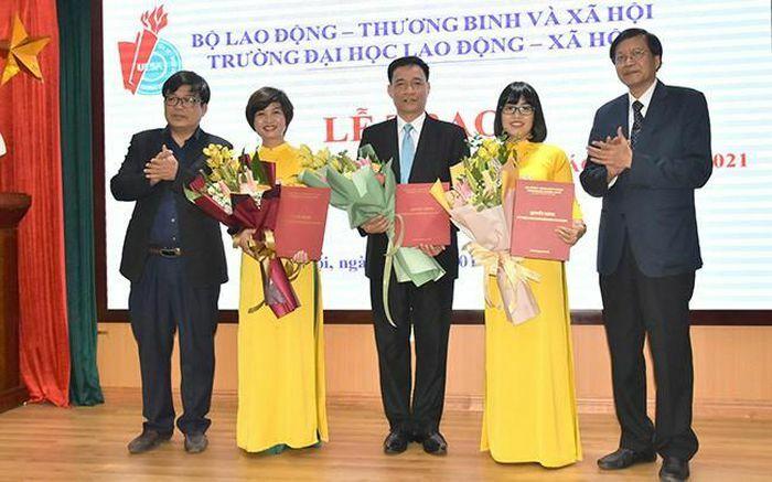 Trường Lao động – Xã hội bổ nhiệm chức danh 3 Phó Giáo sư và trao Bằng cho tân Tiến sĩ đầu tiên về chuyên ngành Quản trị nhân sự