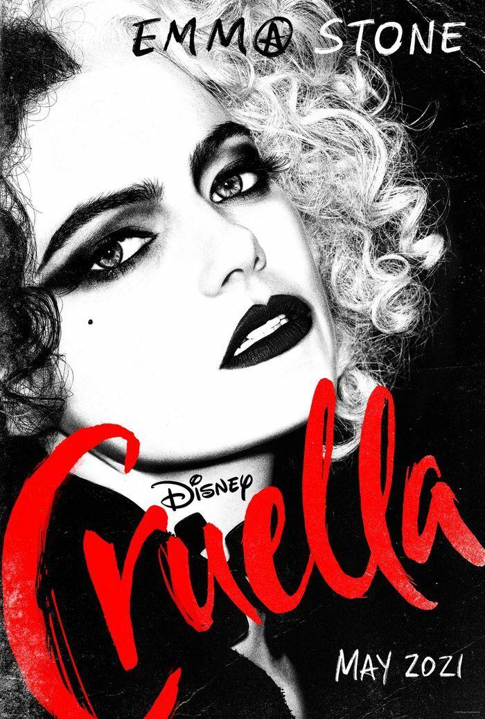 """Emma Stone gây ấn tượng với tạo hình nổi loạn trong """"Cruella"""""""