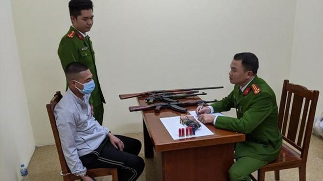 Bắt nhóm đối tượng buôn súng từ nước ngoài về Bắc Giang tiêu thụ