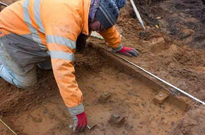Xây nhà, tìm thấy kho báu thợ săn hơn 9.000 năm tuổi