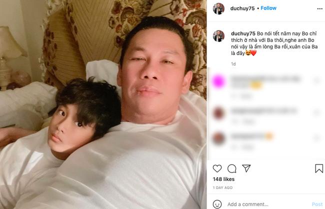 """Lệ Quyên ấm lòng vì con trai muốn đi cùng về Hà Nội, chồng cũ lại lên tiếng: """"Con chỉ thích ở nhà với ba"""""""