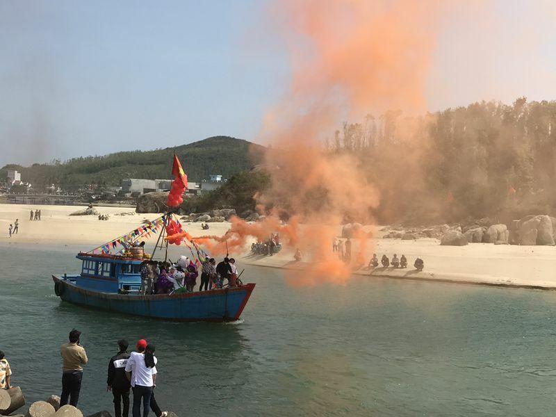 Lễ xuất hành nghề cá ở Quảng Ngãi