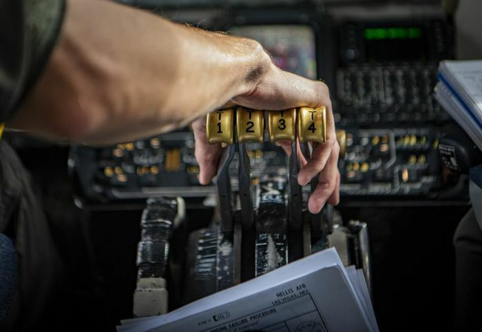 Vị trí lỗ tiếp liệu trên không của từng loại máy bay Mỹ