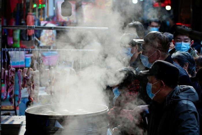 Khung cảnh Vũ Hán trước Tết Nguyên đán 2021