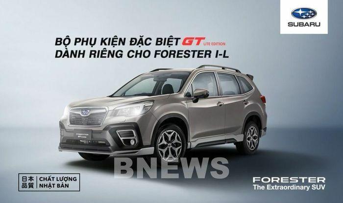 Subaru ra mắt bộ phụ kiện GT Lite Edition cho phiên bản Forester 2.0i-L