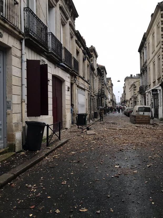Nguyên nhân vụ nổ tại Pháp có thể là do nổ khí gas