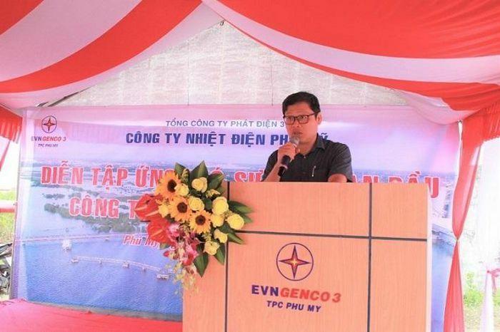 Nhiệt điện Phú Mỹ tổ chức diễn tập ứng phó sự cố tràn dầu tại cầu cảng Phú Mỹ 2.1