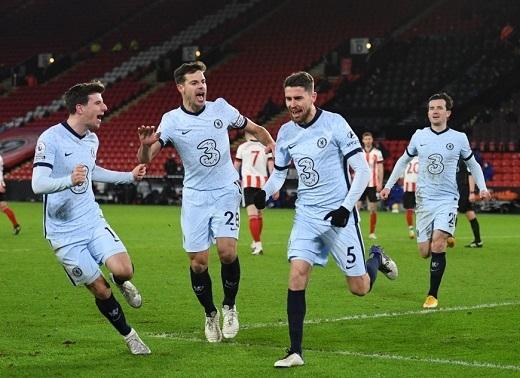 Sheffield Utd 1-2 Chelsea: Top 4 không còn xa