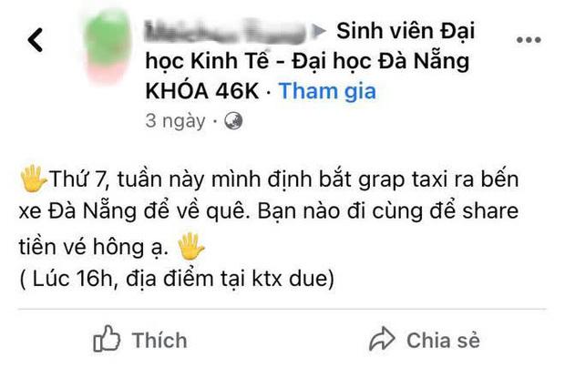 """Tìm người đi xe chung để tiết kiệm tiền về quê đón Tết, nữ sinh nhận được hành động cưng xỉu của """"người lạ"""""""