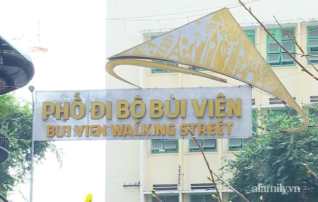"""TP.HCM phong tỏa quán cà phê tại """"phố Tây"""" Bùi Viện nơi bệnh nhân COVID-19 từng ghé"""