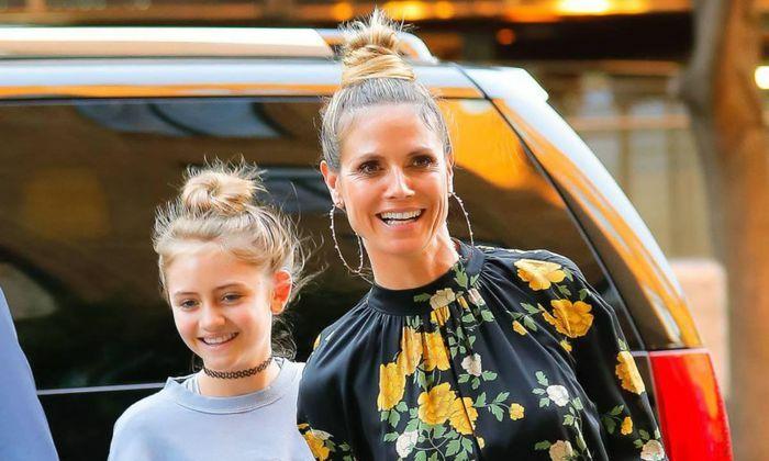 Con gái 16 tuổi của siêu mẫu Heidi Klum