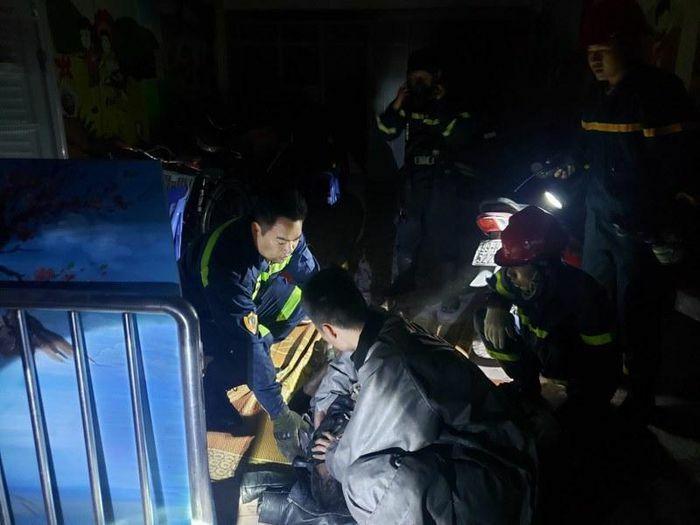 Hà Nội kịp thời dập tắt đám cháy, cứu nạn nhiều người trong đêm