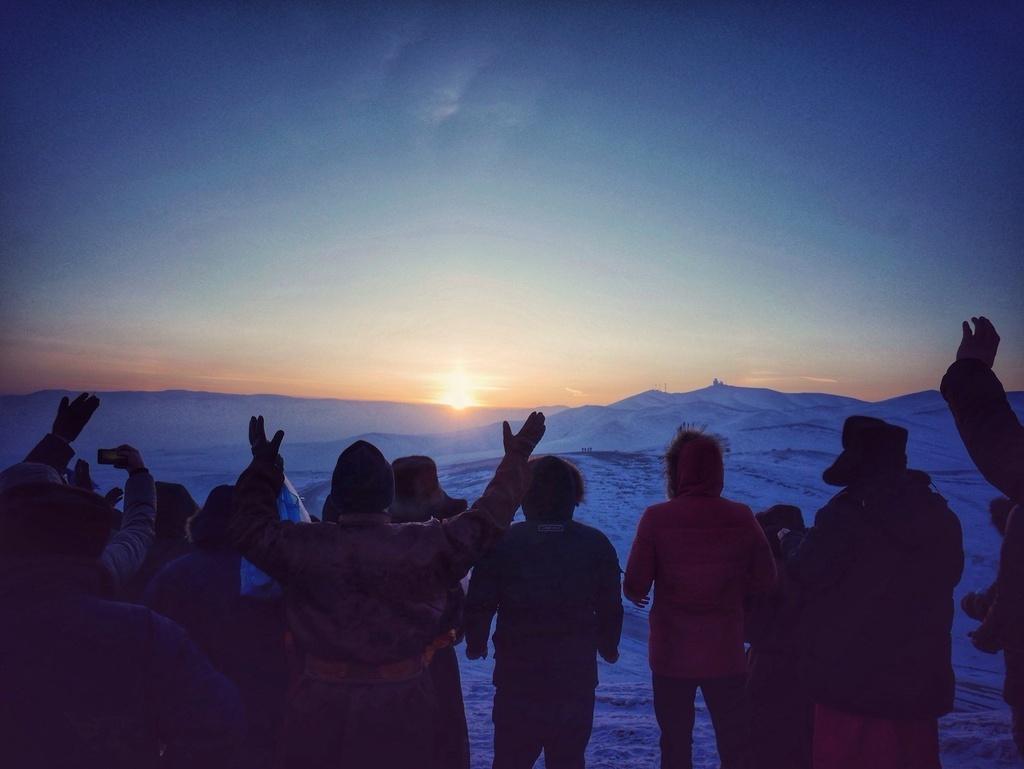 Quốc gia có phong tục thức dậy trước khi mặt trời mọc vào ngày đầu năm