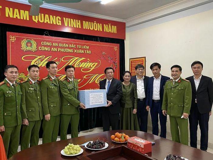 """Ông Nguyễn Xuân Thắng: """"Giữ vững an ninh, trật tự để người dân vui xuân đón Tết an toàn"""""""