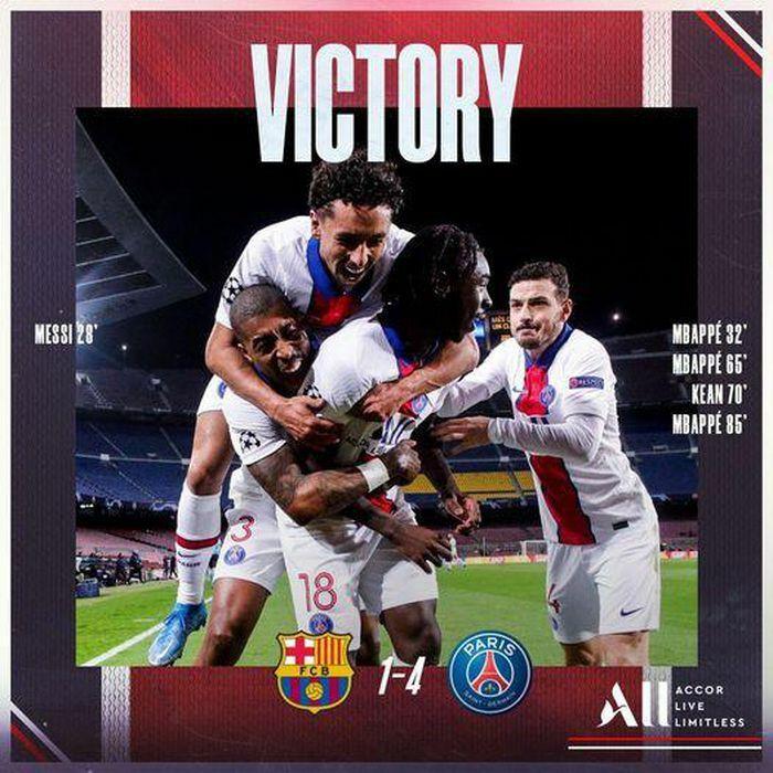Ảnh chế: Mbappe học Ronaldo hủy diệt Barcelona và Messi tại Nou Camp