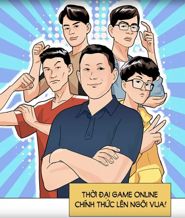 """""""Bom tấn"""" truyện tranh của SBTC Epsorts chính thức ra mắt: Vì háo sắc nên Thầy giáo Ba cùng học trò bị cuốn vào thế giới ảo!"""