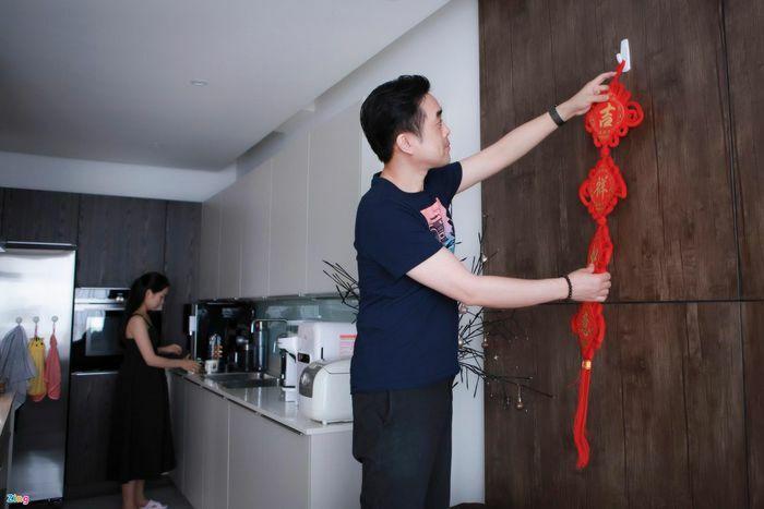 Sao Việt trang hoàng nhà cửa đón Tết Nguyên đán