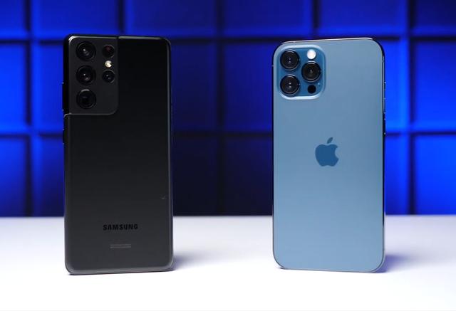 Galaxy S21 Ultra thất bại trước iPhone 12 Pro Max trong bài kiểm tra độ bền