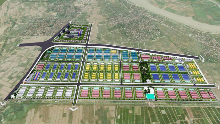Đầu tư kết cấu hạ tầng KCN Quốc Tuấn – An Bình