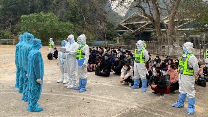Cao Bằng tiếp nhận 100 công dân vượt biên trái phép