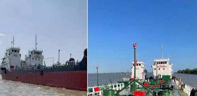 """Gay cấn đường dây buôn bán xăng giả """"khủng, tìm thấy 2 tàu chống trả nhằm bỏ trốn"""